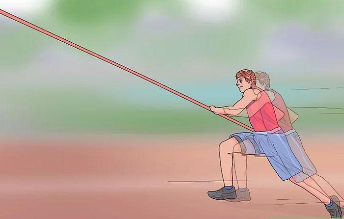 Cách chạy đà khi nhảy sào