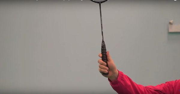 Cách cầm vợt cầu lông chuẩn kỹ thuật