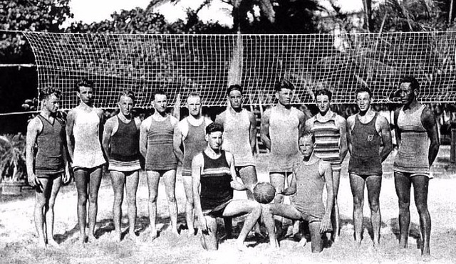 lịch sử môn bóng chuyền