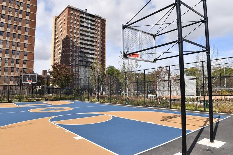 kích thước sân bóng rổ