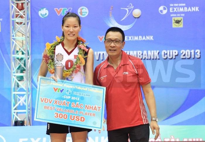 Nguyễn Thị Ngọc Hoa bóng chuyền