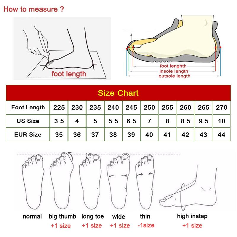 cách chọn size giày bóng bàn