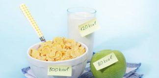 cách tính calo giảm cân