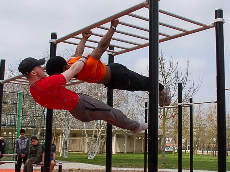 bài tập street workout