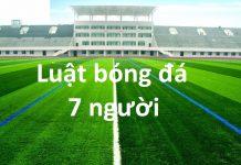 luật bóng đá 7 người