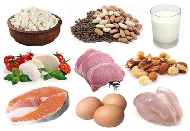 bổ sung protein từ thức ăn tự nhiên