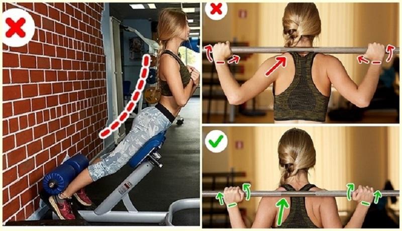 hạn chế chấn thương khi tập gym